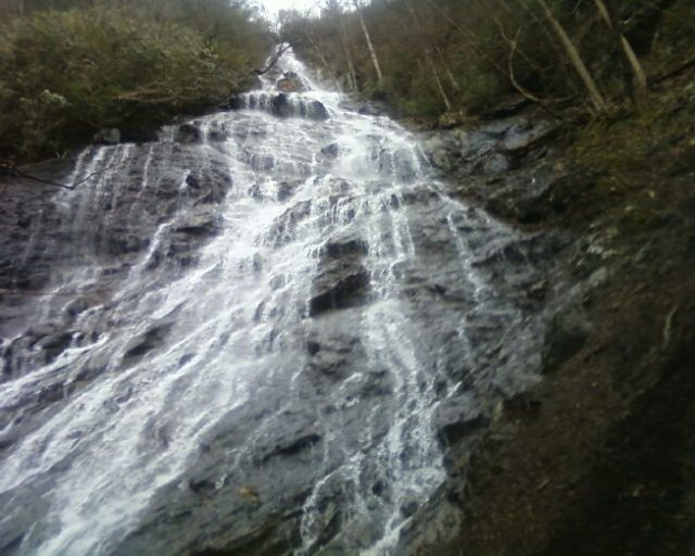Buckeye Waterfalls in Tennessee