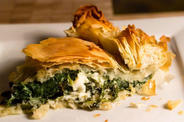 Byrek or Pita Famous Albanian Foods