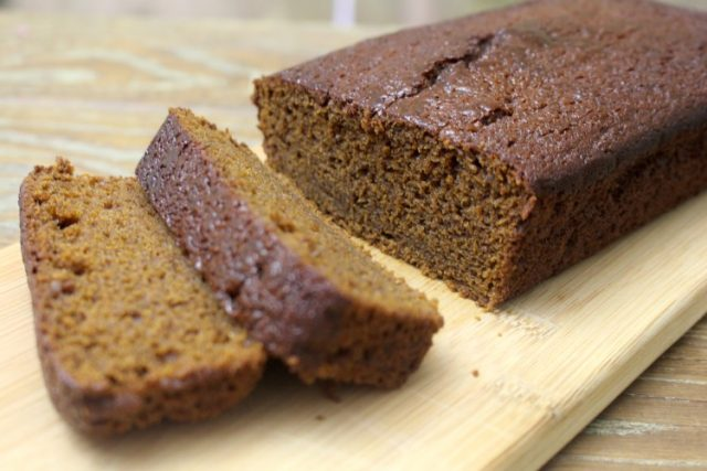 Famous Ginger Cake –Traditional Tea-Party Dish from Jamaica