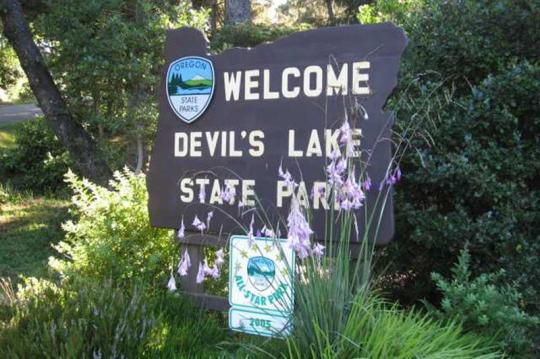 Free Coast Camping Oregon Devil's Lake State Area