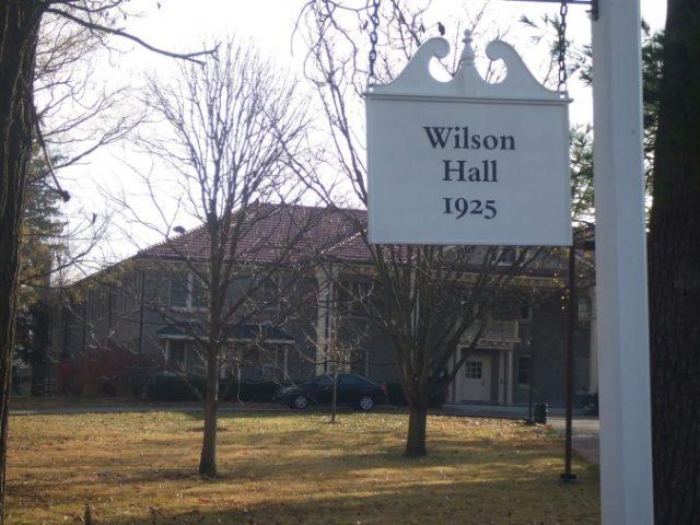 Haunted Places Ohio Wilson Hall, Ohio University, Athens
