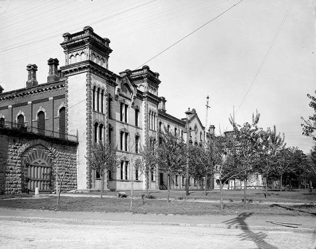 Haunted Places Old Ohio Penitentiary, Prison