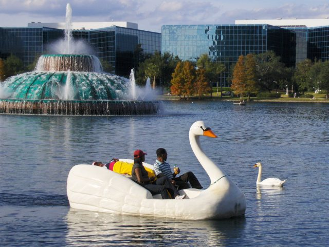 Lake Eola Park Free Places to Visit in Orlando
