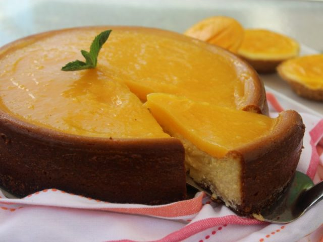 Mango Cheesecake – Layered Confectionery Jamaican Desserts