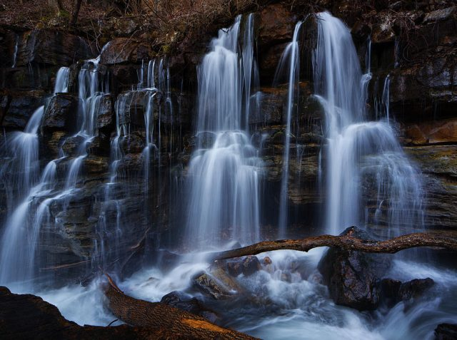 Middle Creek Best Waterfalls in Tennessee
