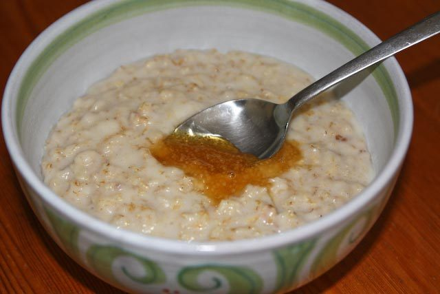 Scottish Porridge Authentic Household Breakfast