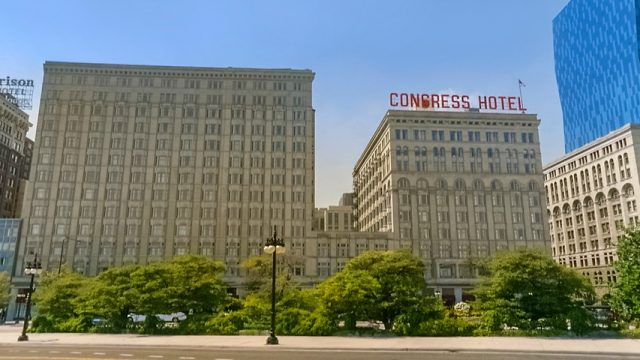 The Congress Hotel Chicago Haunted