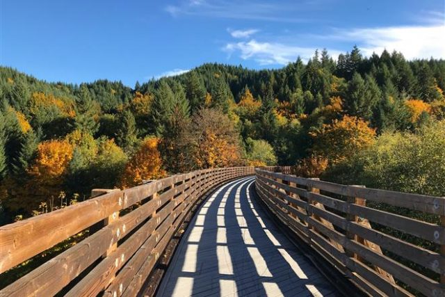 Vernonia, Oregon Banks-Vernonia Trail Park Free Camping Oregon