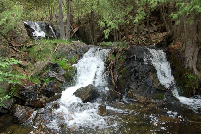 Waterfalls in Michigan Fumee Mountain Iron County