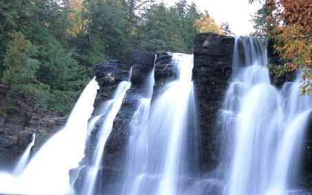 Western Michigan Cascade Falls Ontonagon County