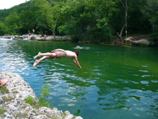 Austin Trails Hiking Barton Creek South-Central Austin Country