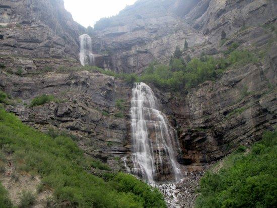 Bridal Veil Falls Provo Utah Hiking Trails