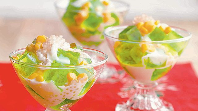 Buko Traditional Fruit Salad of Philippines