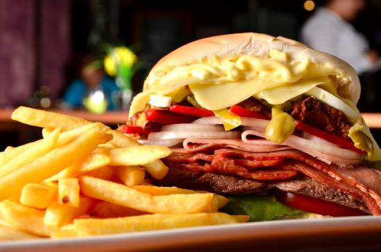 Chivito Traditional Uruguay Food