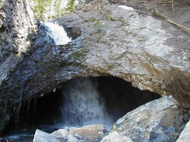 Donut Falls Utah Hiking Trails Salt Lake City