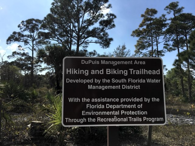 DuPuis Management Area Free Camping in Florida