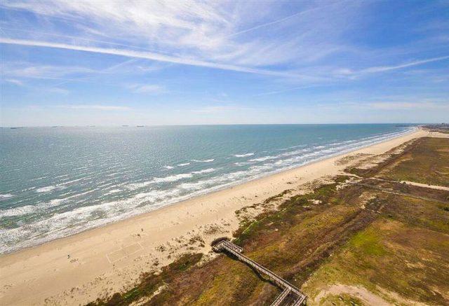 East Beach Boddeker Road Galveston Houston