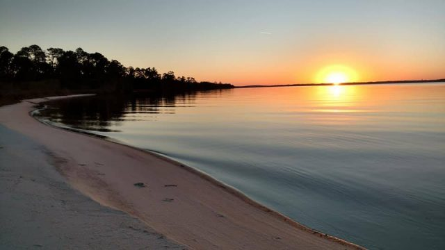 Escribano Point Place to Camp in Florid for Free
