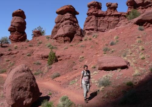 Fisher Towers Utah Hiking Trails Moab