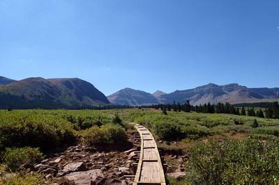 Henry's Fork Utah Hiking Trails King's Peak