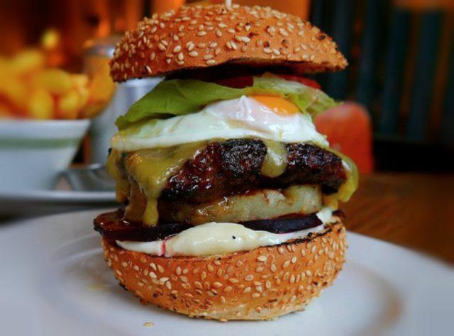 Kiwi Burger NZ Famous Food