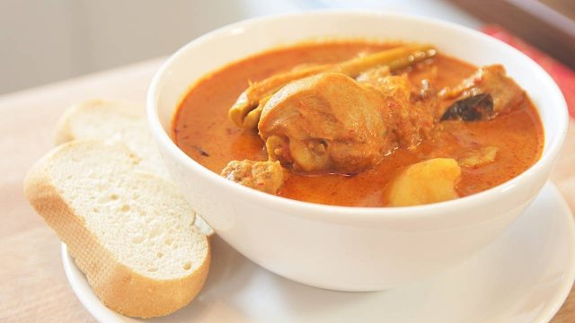 Malaysian Chicken Curry Indian Fusion Gravy