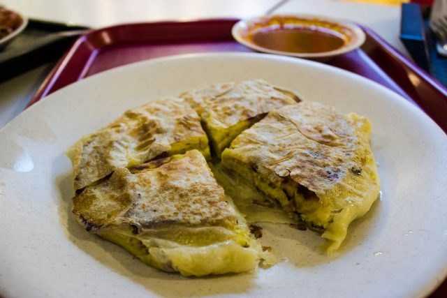 Malaysian Murtabak Meat Food Stuffed Pancake