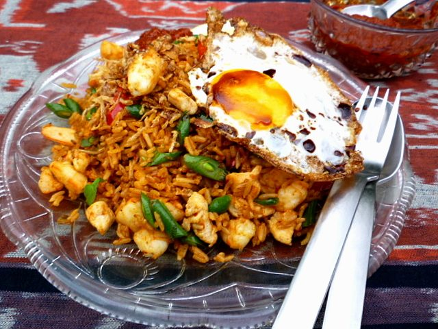 Nasi Goring Authentic Malay Culture Food