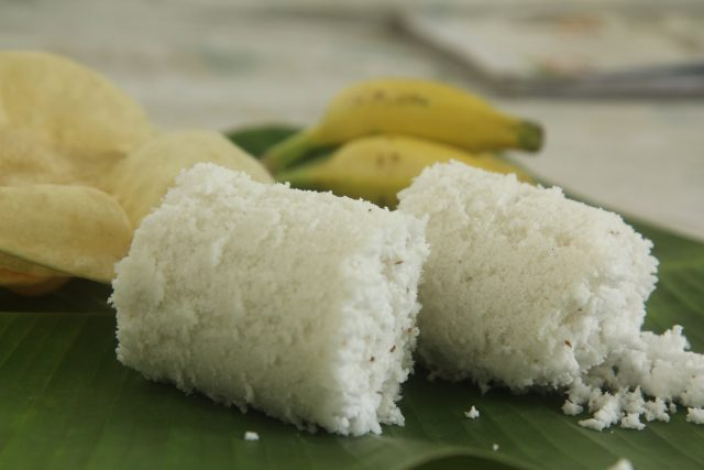 Puttu Sri Lankan Breakfast Dish
