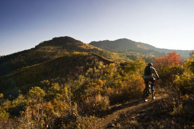 Round Valley Park City Utah Hiking Trails