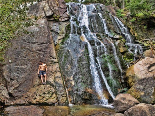 Sandy Bell's Canyon Lower Falls Utah Hiking Trails