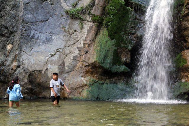 Utah Hiking Trails Waterfall Canyon Ogden