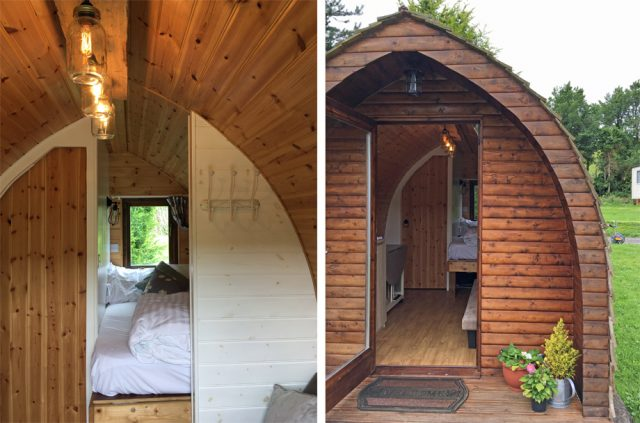Coastal Valley Camping Pods and Crafts in Cornwall