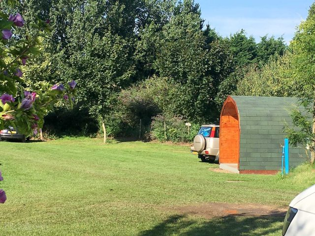 Cool Secret Garden Caravan & Camping Park in Cornwall