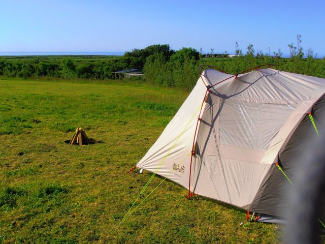 Cool Wild Camping in Cornwall
