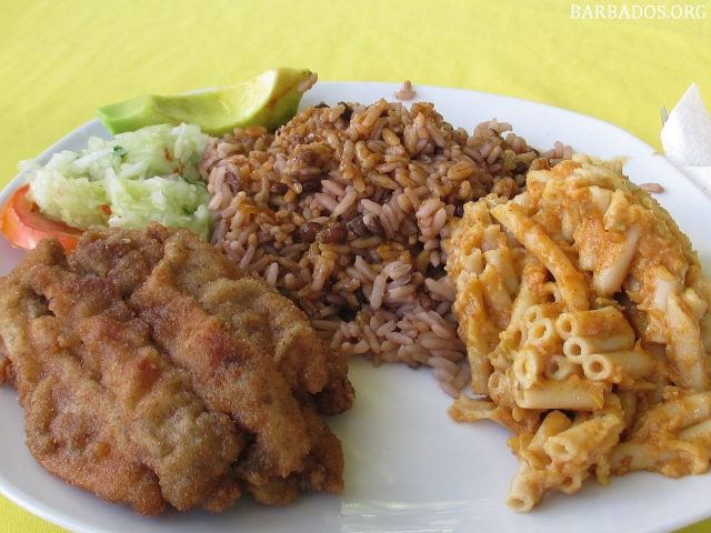 Fried Flying Fish Traditional Food of Barbados