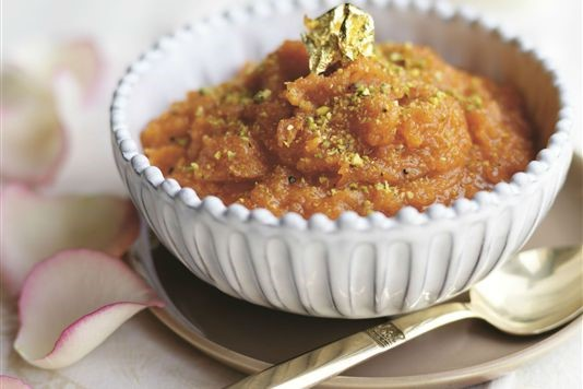 Greek Halwa Fast-Breaking Eggless Vegetarian Pudding