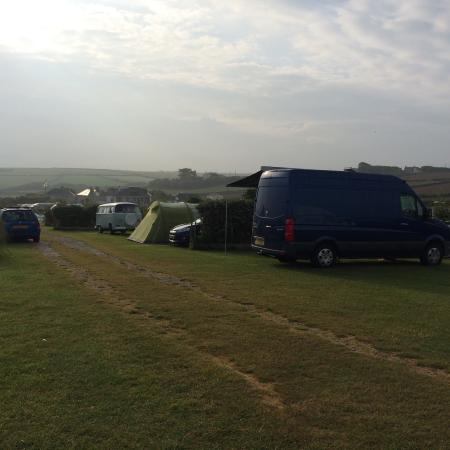 Gwithian Farm Surf Camping in Cornwall