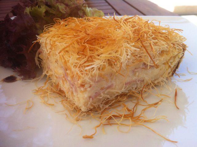 Kataifi Crispy Sweet-n-Sour Dessert
