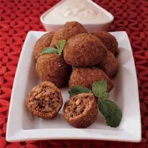Kibbeh National Dish of Syria Foods