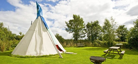 Lombard Farm Yurt Camping Cornwall