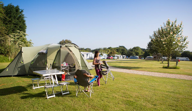 Penrose Holiday Park Camping in Cornwall