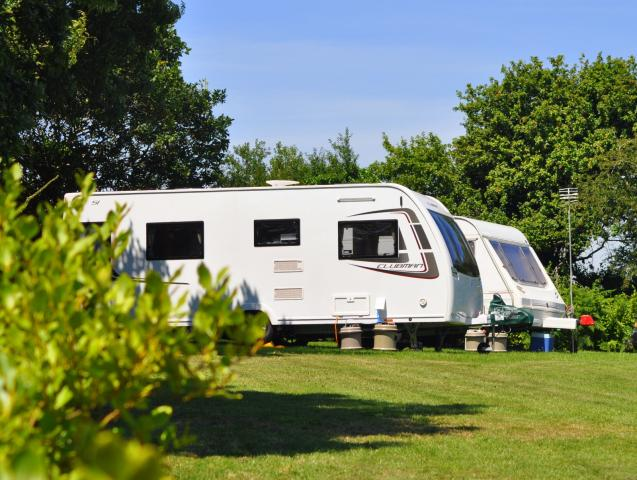 Polglaze Caravan and Farm Camping in Cornwall