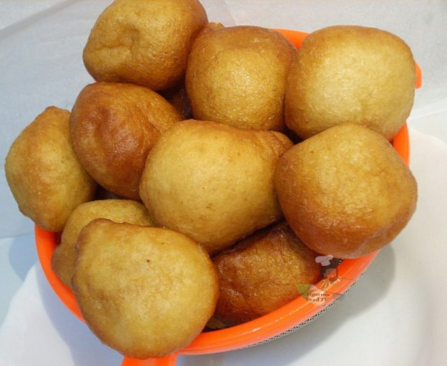 Puff Puff and Beans Street Food of Cameroon