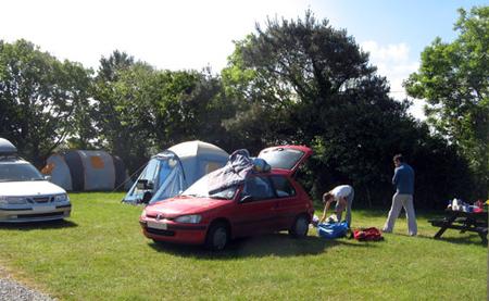 Secret Garden Caravan & Camping Park Penzance Cornwall