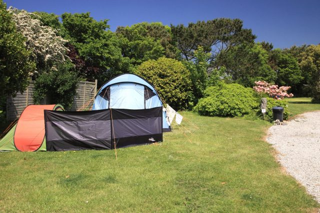 Secret Garden Caravan & Camping Park in West Cornwall