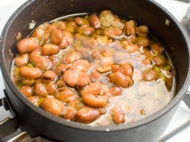 Syrian Fool Vegan Spicy Fava Beans Dish