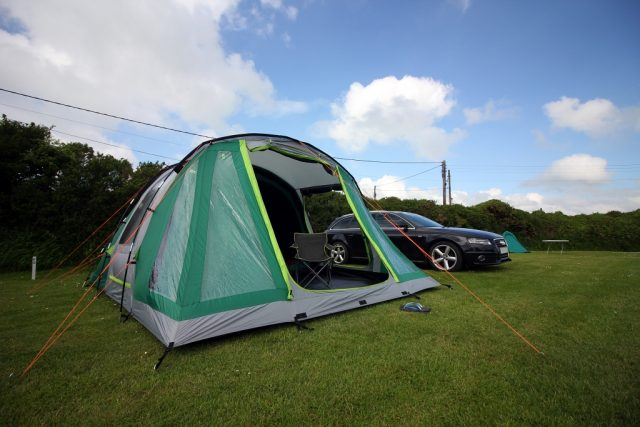 Tregurrian Camping and Caravanning in Cornwall