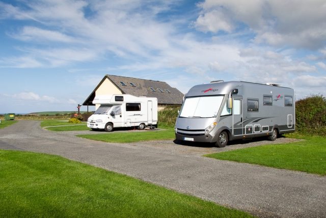 Tregurrian Camping and Caravanning near Watergate bay Cornwall