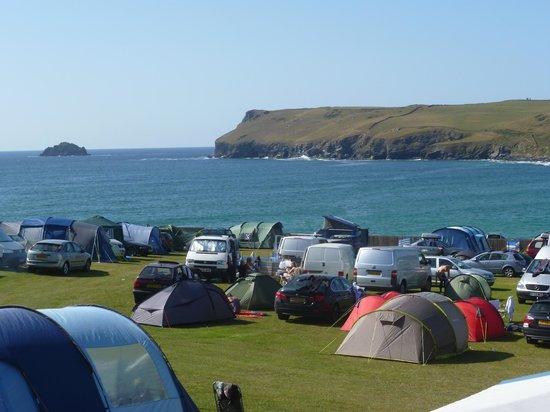 Tristram Camping Park Polzeath Cornwall